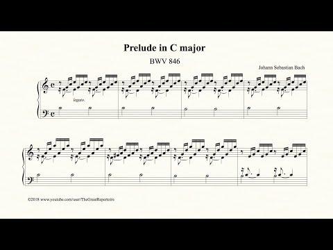Bach, Prelude in C major, BWV 846, Organ