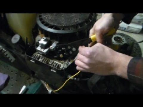 18 hp briggs and stratton carburetor diagram white rodgers zone valve wiring how to coil install opposed twin - youtube