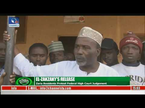 News Across Nigeria: Zaria Residents Protest Federal High Court Judgement