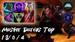 Master Darius Top vs Singed Korea High Elo Replays