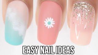 EASY nail ideas! summer nail art