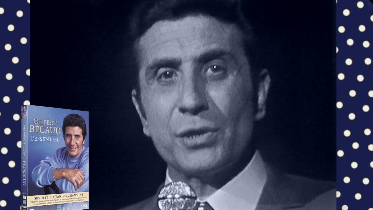 Gilbert Bécaud 50 chansons en DVD avec Claude François, Michel Polnareff,  Brigitte Bardot