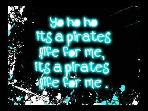 Blood On the Dance Floor - Yo Ho! (A Pirates Life For Me) Lyrics on Screen ! (