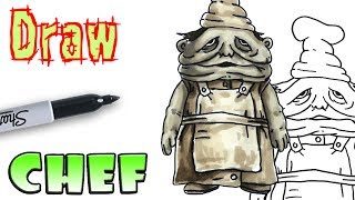 How to Draw the Chef - Little Nightmares