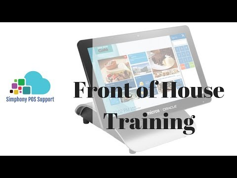 Front Of House Training - Oracle Micros Simphony POS Training And Support