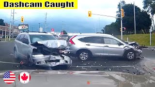 Ultimate North American Cars Driving Fails Compilation - 117 [Dash Cam Caught Video]
