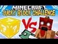 LUCKY BLOCK VS MINOSHROOM (Avec THEFANTASIO974 ) !   LUCKY BLOCK CHALLENGE  [FR]