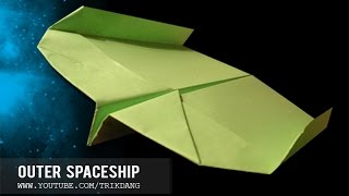 How To Make A Paper Airplane - Boomerang Paper Planes - Avión De Papel - 紙飛行機  | Outer Spaceship