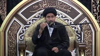 السيد حسن الخباز - لماذا ينحب ويبكي النبي صلى الله عليه وآله وسلم عندما يتذكر مصيبة الإمام الحسين ع