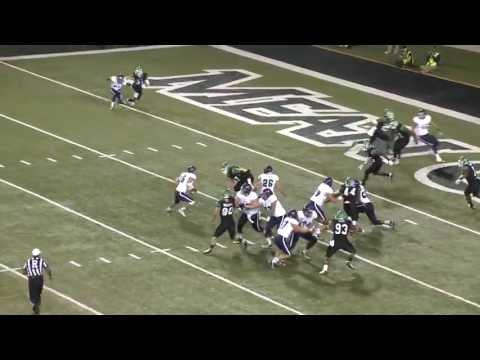 North Texas Football Highlights vs Rice - October 31 2013
