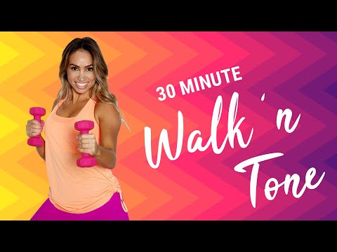 Get LIIT �� 30 Min Walk 'n Tone Sweat Session �� Torch Those Calories