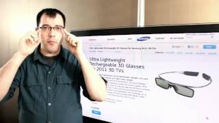 Samsung 3d Bluetooth Glasses for 2011 TVs