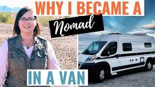 Full Time SOLO RV LIVING In A Hymer Aktiv Camper VAN / Why I Became A Digital NOMAD
