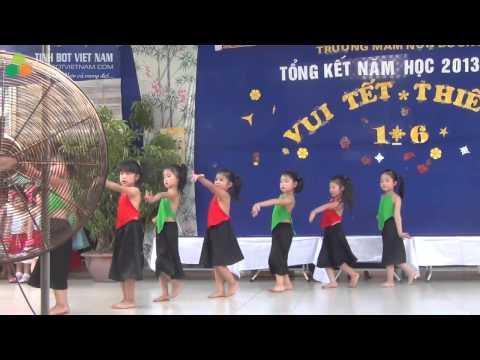 Múa Đi Cấy - Chào Tết Thiếu Nhi 1 tháng 6 năm 2014 - Nguyễn Mai Thục Anh