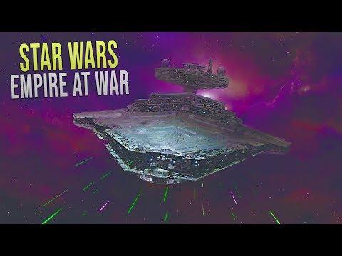 Eclipse SSD vs CIS DROID Fleet! - Star Wars: Empire at War Yoden Mod