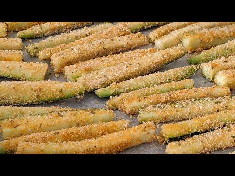 courgettes-croustillantes-/-sans-Œufs-/-recette-rapide-que-mÊme-les-enfants-vont-adorer