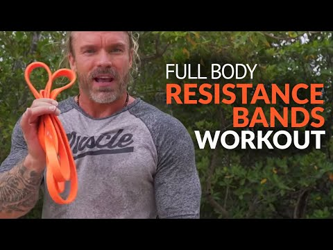Total Body Resistance Bands Workout You Can Do Anywhere - Even a Paddle Board!