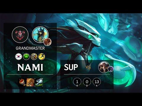 Nami Support vs Sett - KR Grandmaster Patch 10.13
