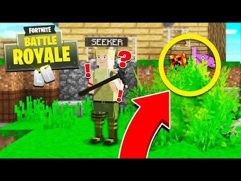 Minecraft Fortnite: Battle Royale HIDE & SEEK! - Minecraft Mods
