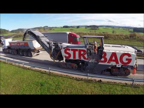 """STRABAG GmbH Direktion Baden-Württemberg - A96 Projekt """"Schnelles Bauen"""""""