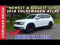Newest & Biggest SUV: 2018 Volkswagen Atlas on Everyman Driver