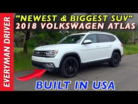 Here's the 2018 Volkswagen Atlas SUV on Everyman Driver - YouTube
