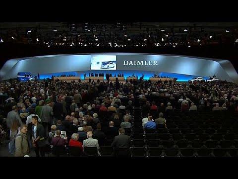 Daimler-HV: Bekenntnis zu Diesel und freiem Welthandel