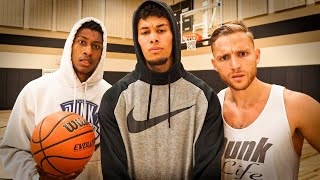 CJ, Isaiah, Luis, And Steven Dunk Session!! Video