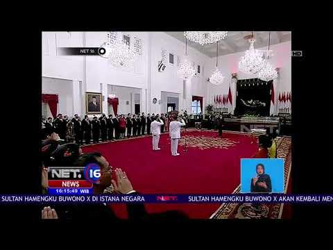 Live Report: Pelantikan Sri Sultan Hamengkubuwono Ke-10 - NET16