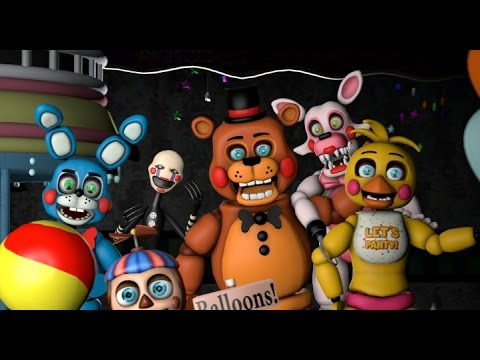 Love Magic Hd Live Wallpaper The Main Fnaf 2 Characters Sing Survive The Night Youtube