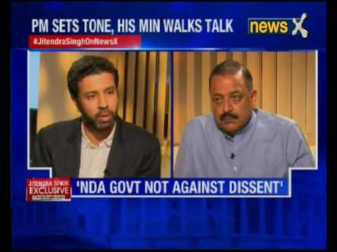 MoS Jitendra Singh speaks to NewsX exclusively
