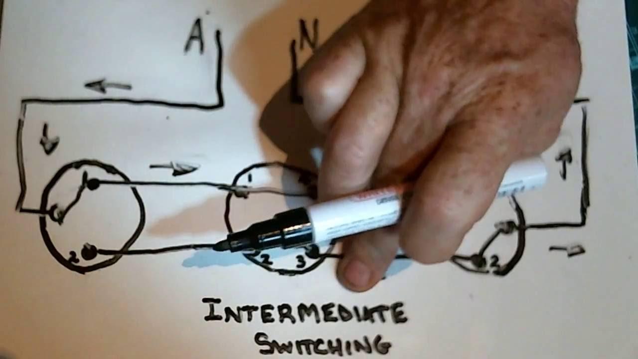 Intermediate Switching3 Way Switching Youtube Switch Wiring Australia Free Download Diagrams