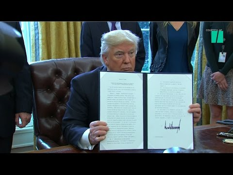How Many Executive Orders Has Trump Signed In His First 100 Days?