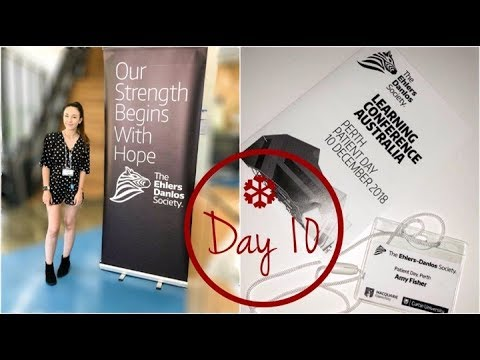 ♡  Ehlers Danlos Learning Conference 2018!! | Vlogmas Day 10 🎄 | Amy's Life ♡
