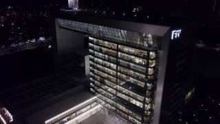 2017-03-24 FTV 民視總部林口夜拍 (DJI Mavic Pro)