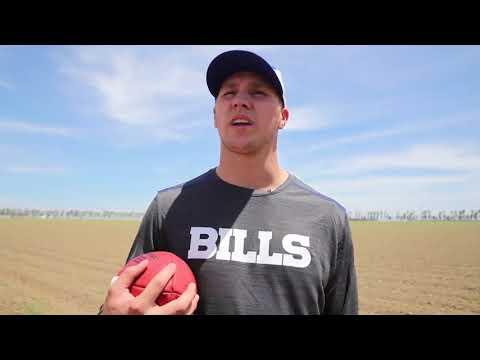 Josh Allen from Firebaugh to the NFL
