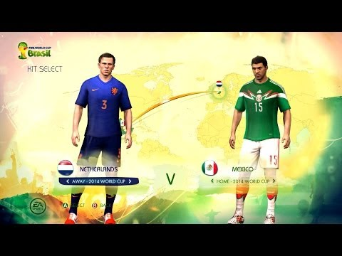 Netherlands v Mexico: Digital World Cup