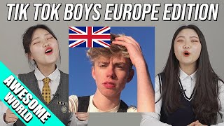 KOREAN TEENS REACT TO TIK TOK BOYS EUROPE EDTION