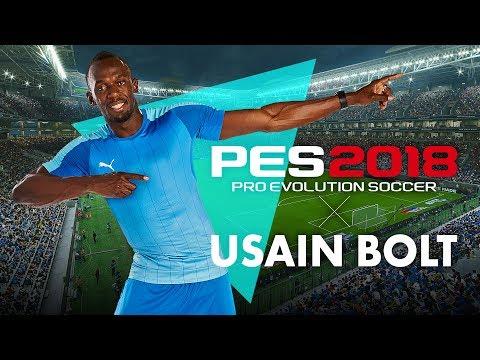 PES 2018 Usain Bolt Reveal Trailer