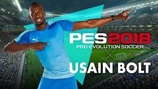PES 2018 Usain Bolt Reveal Trailer