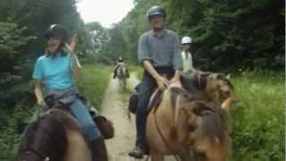 UN WE dans le jura a cheval
