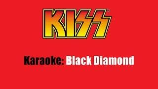 Download Mp3 Karaoke: Kiss / Black Diamond