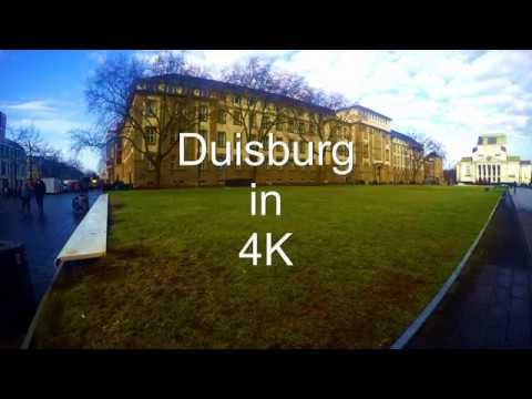 Duisburg Germany in 4K