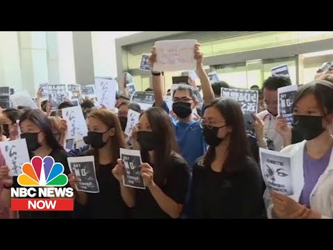 How The World Is Reacting To Hong Kong Protests | NBC News Now