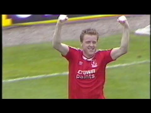 Steve Nicol Liverpool FC Goals Collection