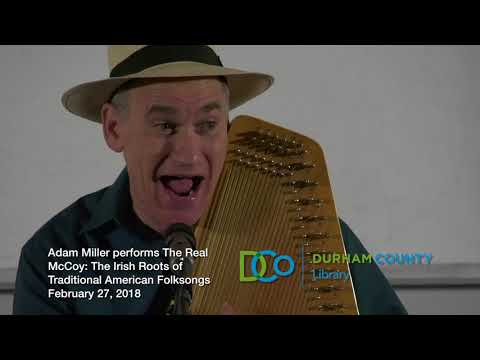 Singing through History: Adam Miller presents The Real McCoy