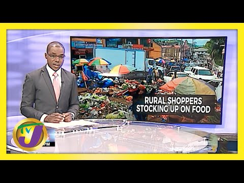 Lockdown Preparation in Rural Jamaica   TVJ News