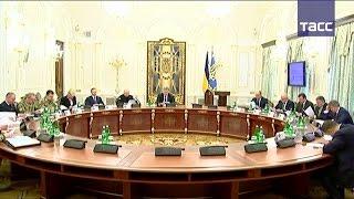 Киев приостановил транспортное сообщение с Донбассом