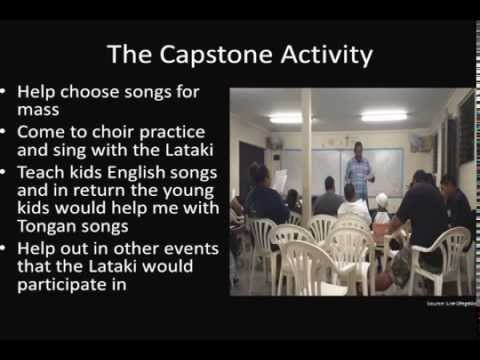 Singing It Up with the La Taki: Tongan Youth Ministry - Josh