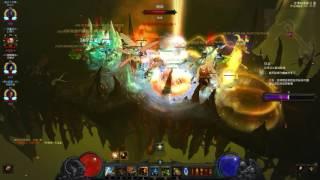 Diablo III 2.4.1 團隊高層 巫醫示範影片